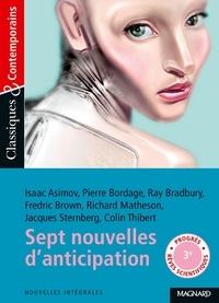 Philippe Tomblaine - Sept nouvelles d'anticipation.