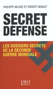 Secret défense - Les dossiers secrets de la Seconde Guerre mondiale.pdf