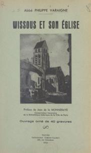 Philippe Varaigne et Jean de La Monneraye - Wissous et son église.