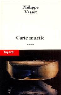 Philippe Vasset - Carte muette - Machines II.