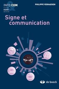 Philippe Verhaegen - Signe et communication.