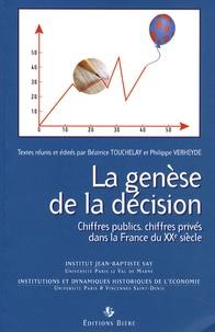 La genèse de la décision - Chiffres publics, chiffres privés dans la France du XXe siècle.pdf