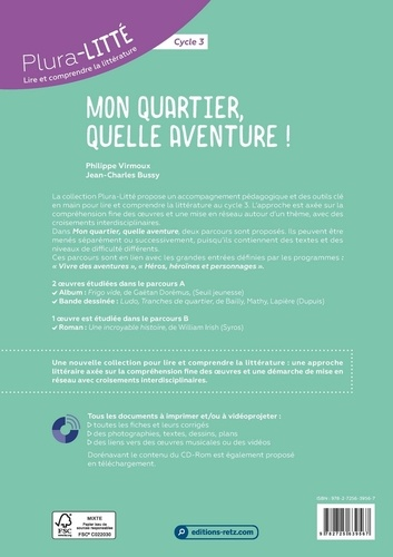 Mon quartier, quelle aventure !. Cycle 3  avec 1 CD audio