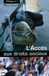 Philippe Warin - L'Accès aux droits sociaux.
