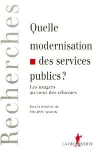 Deedr.fr Quelle modernisation des services publics ? Image
