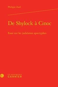 De Shylock à Cinoc - Essai sur les judaïsmes apocryphes.pdf