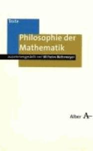 Philosophie der Mathematik.
