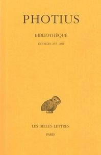 Photius - Bibliothèque - Tome 8, Codices 257-280.
