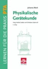 Physikalische Gerätekunde.