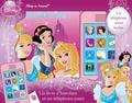 Pi Kids - Disney Princesses - Un livre d'histoires et téléphone-jouet.