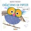 Pia Pedevilla - Créations en papier - Vivement mercredi ! Dès 4 ans.
