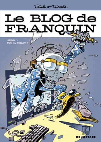 Piak et  Turalo - Le blog de Franquin Tome 1 : Bon, au boulot !.
