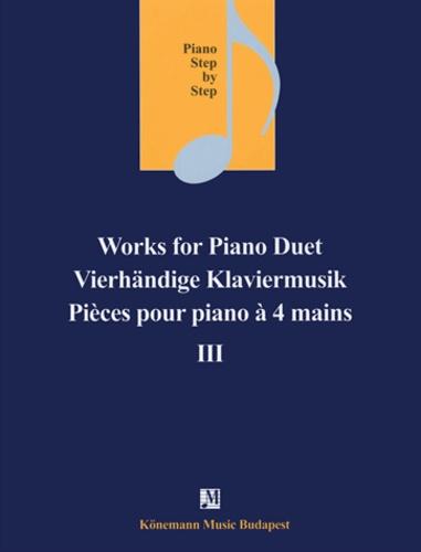 Piano step by step - Pièces pour piano à 4 mains II - Partition.