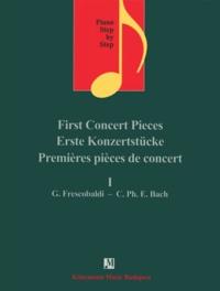 Satt2018.fr Premières pièces de concert I - Girolamo Frescobaldi Carl Philipp Emanuel Bach - Pour piano - Partition Image