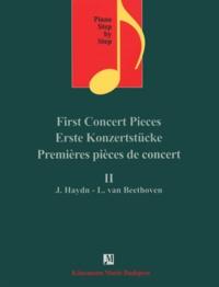 Accentsonline.fr Premières pièces de concert II Joseph Haydn Ludwig van Beethoven - Pour piano - Partition Image