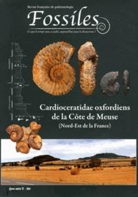 Patrice Lebrun - Fossiles Hors série N° 2/2011 : Cardioceratidae oxfordiens de la Côte de Meuse (Nord-Est de la France).
