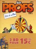 Pica et  Erroc - Les Profs  : Pack en 2 volumes - Tome 2 : Loto et colles ; Tome 21 : Rentrée des clashs.