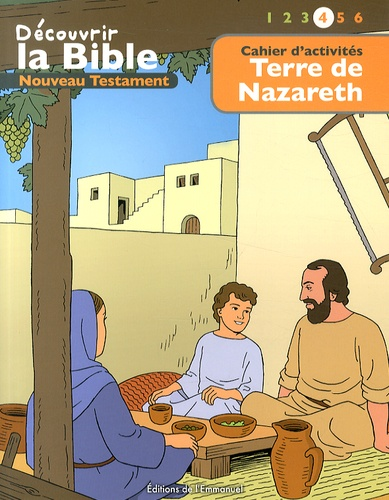 Picanyol et Toni Matas - Terre de Nazareth - Cahier d'activités.