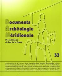 Philippe Gruat - Documents d'archéologie méridionale N° 33/2010 : .