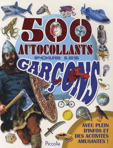 Piccolia - 500 autocollants pour les garçons.