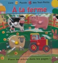 Piccolia - A la ferme - Place les pièces dans les pages !.