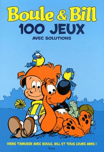 Piccolia - Boule et Bill 100 jeux pour t'amuser avec tes héros préférés.