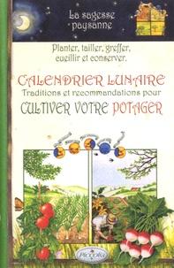Histoiresdenlire.be Calendrier lunaire - Traditions et recommandations pour cultiver votre potager Image