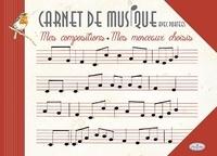 Alixetmika.fr Carnet de musique avec portées Image