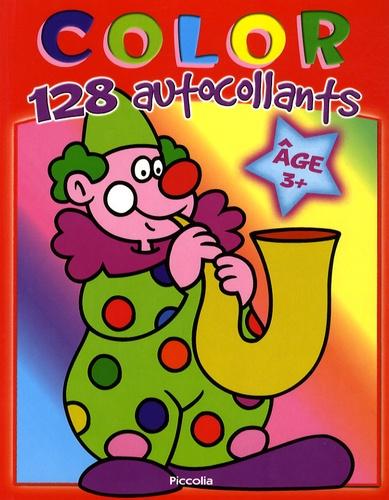 Piccolia - Color 128 autocollants clown.