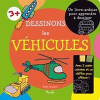 Piccolia - Dessinons les véhicules - Livre-ardoise.
