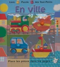 Piccolia - En ville - Place les pièces dans les pages !.