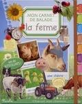 Piccolia - La ferme - Mon carnet de balade, avec des autocollants !.