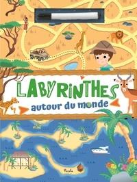 Livres gratuits en anglais à télécharger Labyrinthes autour du monde  - Je joue avec mon feutre