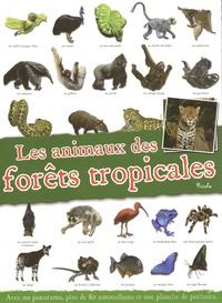Piccolia - Les animaux des forêts tropicales - Avec un panorama, plus de 80 autocollants et une planche de pochoirs.