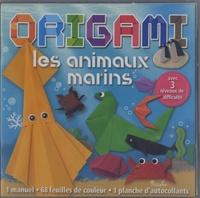 Piccolia - Les animaux marins - Contient : 1 manuel, 68 feuilles de couleurs, 1 planche d'autocollants.