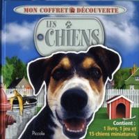 Piccolia - Les chiens - Avec 1 livre, 1 jeu et 15 chiens miniatures.