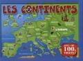 Piccolia - Les continents.