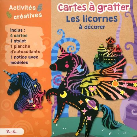 Piccolia - Les licornes à décorer.