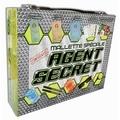 Piccolia - Mallette spéciale agent secret - Avec des fiches de mission, 1 manuel et 2 livres, 5 cartes, 2 feutres, 1 paire de lunettes et 1 loupe.