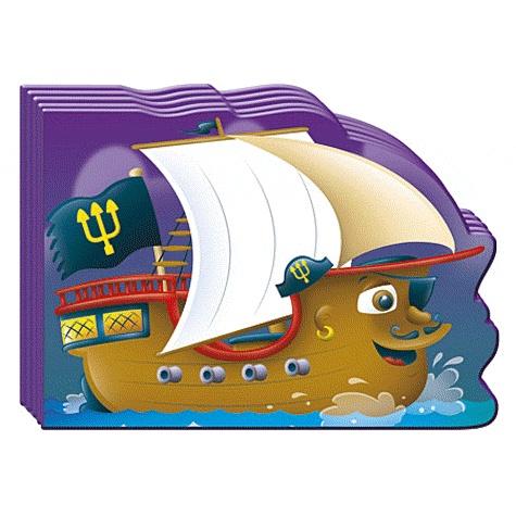 Piccolia - Mini engins de la mer - Le bateau pirate.