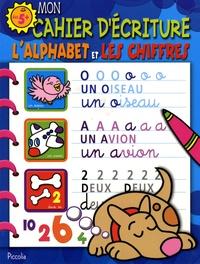 Deedr.fr Mon cahier d'écriture, Le chien Bleu - L'alphabet et les chiffres Image