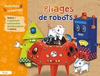 Deedr.fr Pliages de robots - Avec 4 planches cartonnées prédécoupées, 1 notice Image