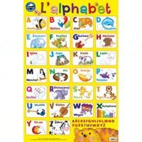 Histoiresdenlire.be Posters magnétiques l'alphabet Image