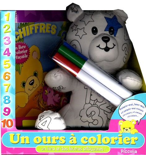 Piccolia - Un ours à colorier.