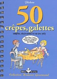 Deedr.fr 50 crêpes, galettes, simples, distinguées et de bon goût Image