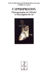 Lappropriation - Linterprétation de laltérité et linscription du soi.pdf