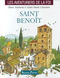Piero Ventura et Gian-Paolo Ceserani - Saint Benoît.