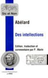 Pierre Abélard - Des intellections.