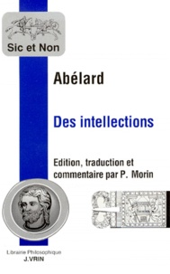 Pierre Abélard - Des intellections.