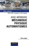 Pierre Agati - Mécanique, physique, automatismes.
